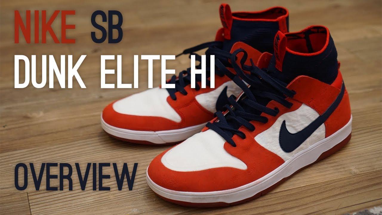 reputable site 71339 4571e Nike SB Dunk Elite Hi Overview