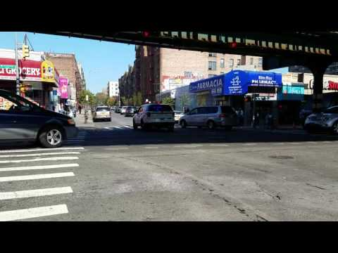 NYPD Responding In The Sound view Section Of The South East Bronx, New York