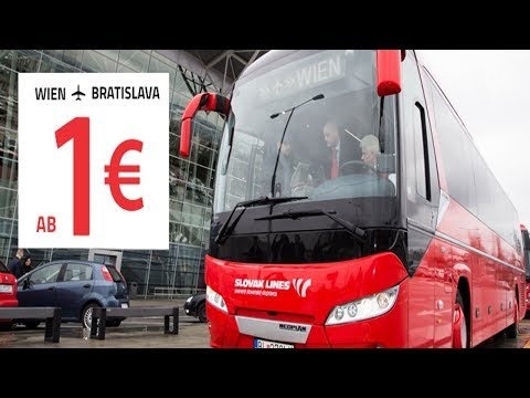Как добраться из аэропорта вены в братиславу на автобусе