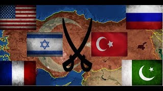 Türkiye, Rusya, Pakistan VS Amerika, İsrail, Fransa