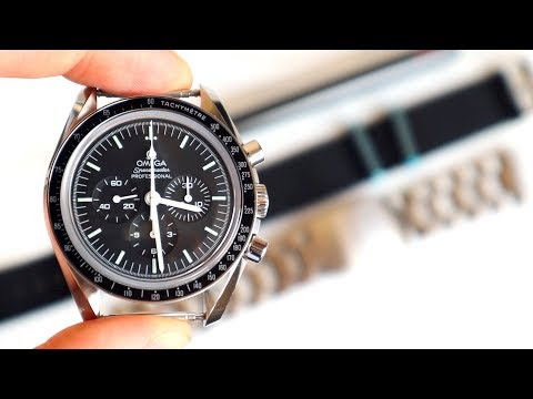 How To Put A NATO Strap On Omega Speedmaster Moonwatch