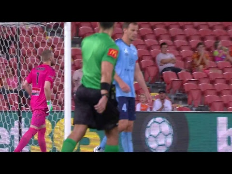 A-League 2018/19: Round 23 - Brisbane Roar FC v Sydney FC (Full Game)