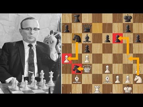 Not Enough Time to Win! Najdorf vs Reshevsky (Zurich 1953)