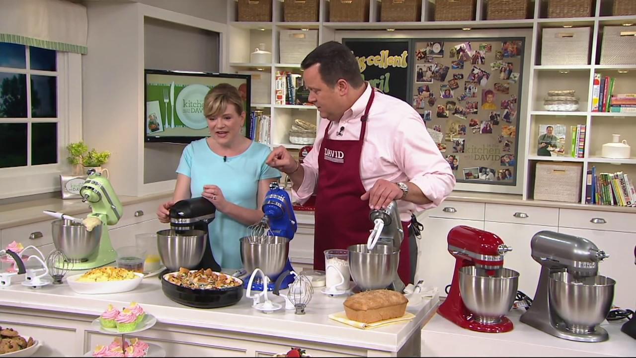 KitchenAid 3.5qt. Mini Artisan Stand Mixer with Flex Edge Beater on on qvc lg, qvc shopping, qvc blendtec, qvc vitamix, qvc tupperware, qvc canon, qvc stand mixers whisk, qvc lenox, qvc kitchenware,