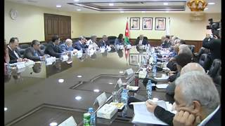 رئيس الوزراء يترأس اجتماعا في وزارة الصناعة والتجارة والتموين