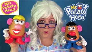Learning with Mr Potato Head Mrs Potato Head and Granny