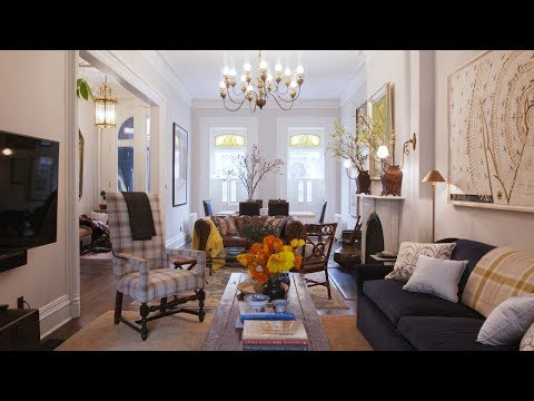 A Traditional Brooklyn Brownstone With A Twist | Home Tours | House Beautiful