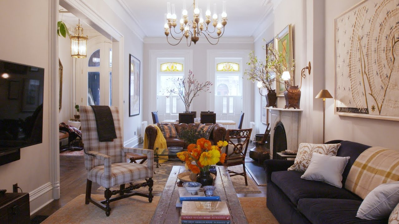 A Traditional Brooklyn Brownstone With A Twist Home Tours House Beau Brooklyn Brownstone Home Brownstone