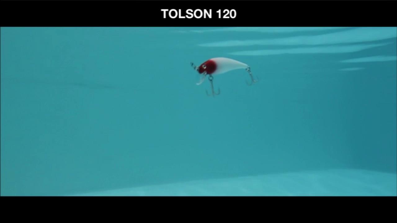 Isca de pesca Tolson 120 Caperlan - Exclusividade Decathlon - YouTube 28a74651784