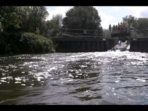 Nicks first Kayak trip Medway Tonbridge to Yalding