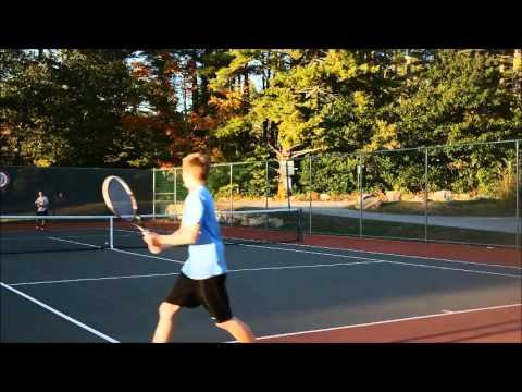 Ian Horne College Tennis Recruitment Video