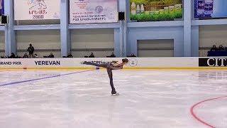 Александра Трусова на юниорской серии Гран-при по фигурному катанию в Ереване