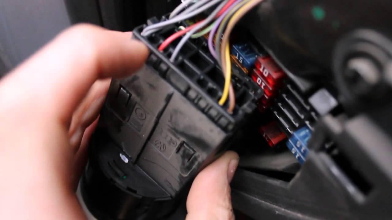 установка датчика наддува audi a4