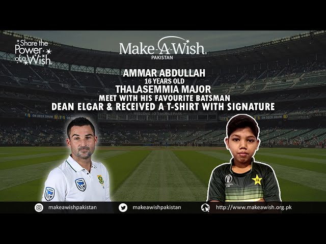 WISH TO HAVE A CRICKET KIT & MEET SOUTH AFRICAN TEAM