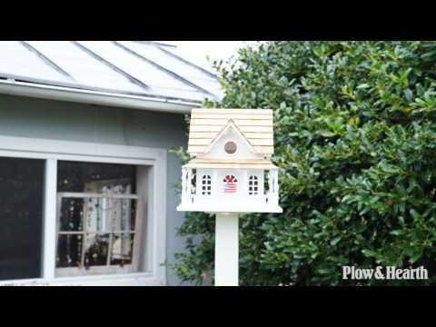 Americana Lighted Birdhouse SKU# 59E88 - Plow & Hearth