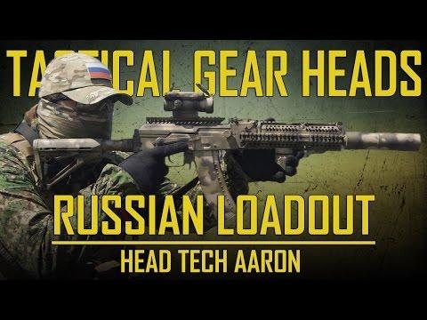 RUSSIAN LOADOUT | TACTICAL GEAR HEADS | HEAD TECH AARON - Airsoft GI