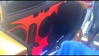 Pique maletero botellón Vectra vs Astra (REKO SOUND III)