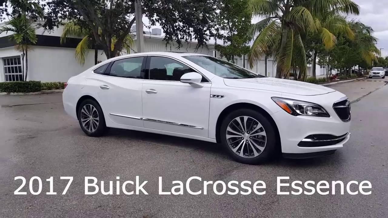 2017 Buick LaCrosse Essence - YouTube
