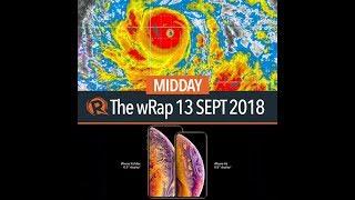 Typhoon Ompong, Faeldon backs Duterte, iPhone | Midday wRap
