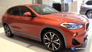 2018 BMW X2 xDrive28i - Exterior and Interior Walkaround - 2018 New York Auto Show