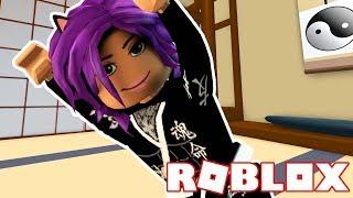 THE NINJA TRAINING OBBY ON ROBLOX!