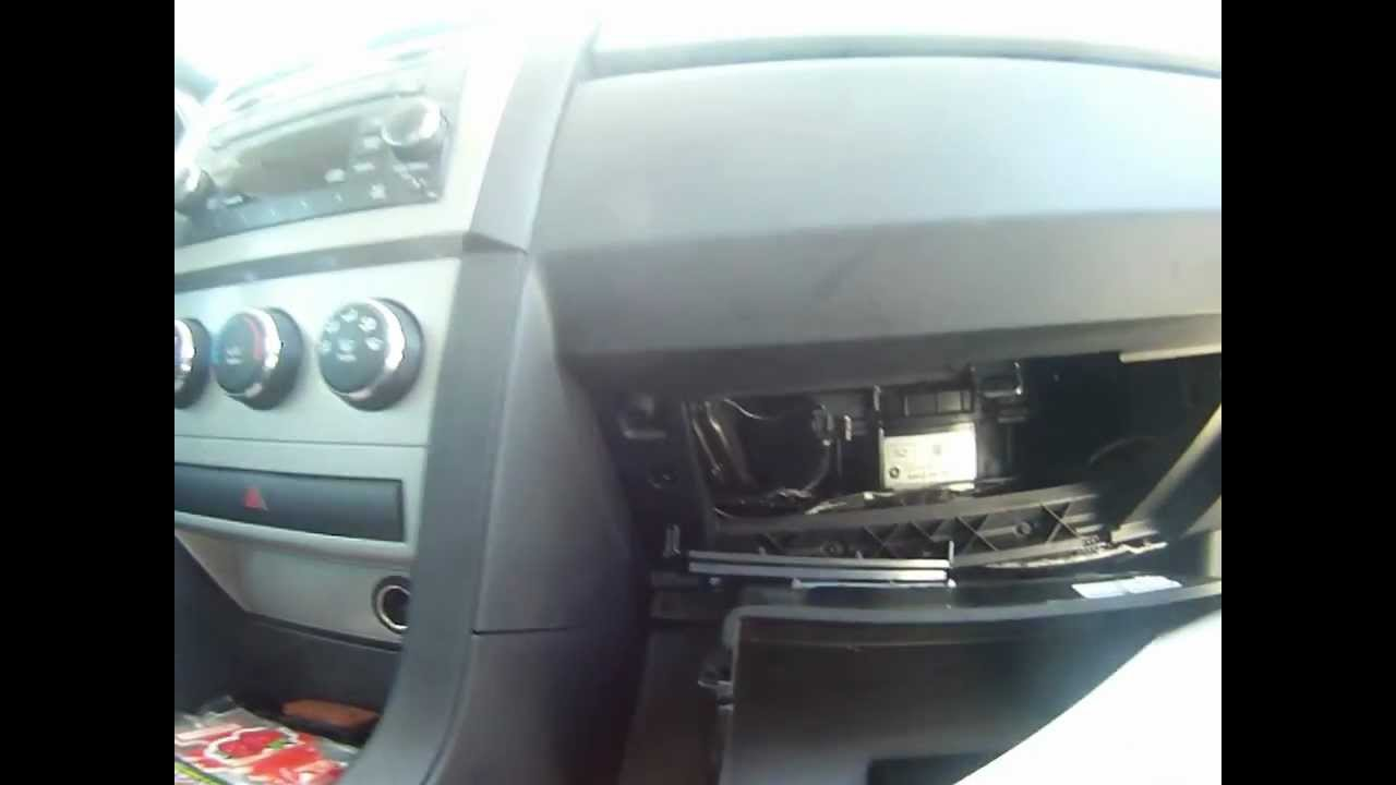 Cabin Air Filter Replacement 2010 Dodge Avenger Youtube Renault Laguna Fuse Box Diagram