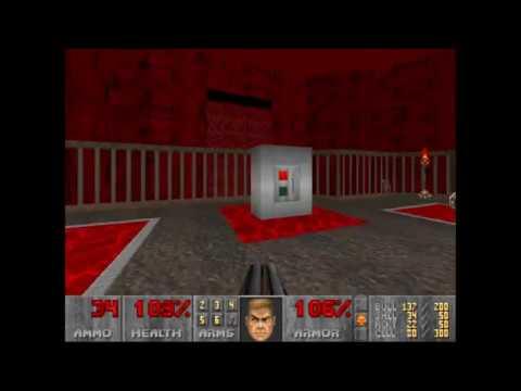 Doom 2 | Relentless Evil | Level 19: Bad Peninsula (Not Too Rough + Commentary)