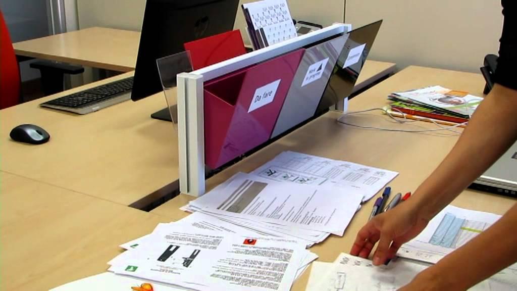 Organizzare Ufficio Vendite : Come organizzare l ufficio e la scrivania con barra inuno youtube