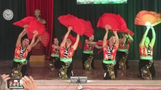 Múa Tình ca Tây Bắc -  hội người cao tuổi thôn Tăng Quang- Bích Sơn