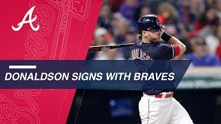 Josh Donaldson joins the Braves