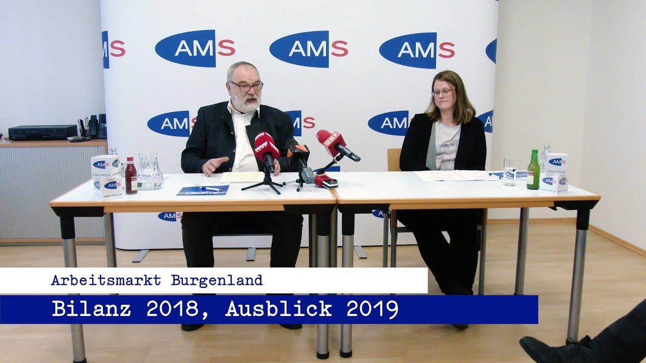 Burgenländischer Arbeitsmarkt- Bilanz 2018, Aussicht 2019