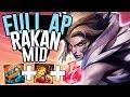 FULL AP RAKAN MID IS AN AMAZING ASSASSIN!! - Off Meta Monday - AP Rakan Mid - League of Legends