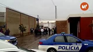 Volcó un auto en barrio San Justo