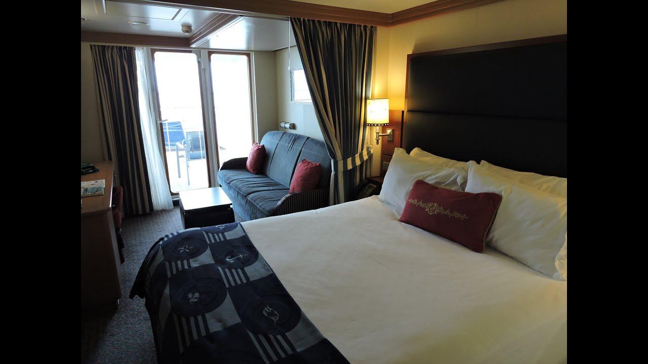 Disney dream balcony cabin 8188 aft extended balcony for Balcony room cruise ship
