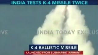 K-4 Ballistic Missile: Boost To India's Nuke-Strategy