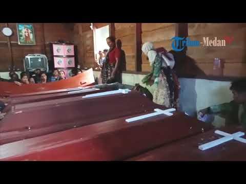 Korban Longsor Satu Keluarga Di Desa Aek Rihit Kabupaten Tobasa