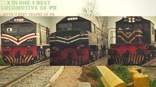 3 In 1 Trains || Allama Iqbal Express Train Karakoram Express Train & Business Express Train ||Train