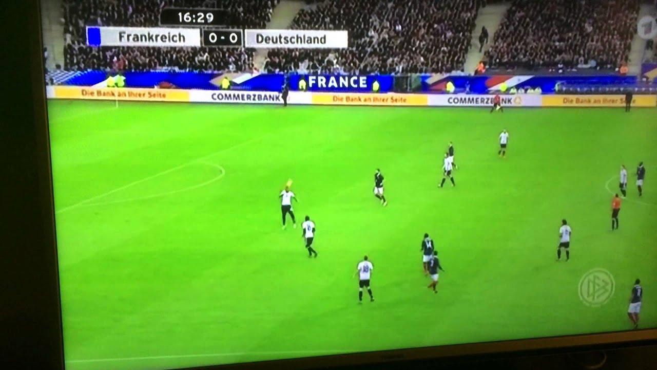 Frankreich Deutschland Knall