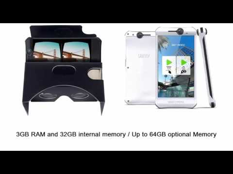 Yezz Sfera smartphone With a 360 Degree Omnidirectional Camera