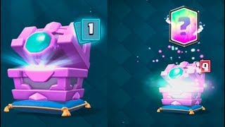 FORTUNE CHEST OPENINGS :: Clash Royale :: LUCKY LEGENDARY IN THE CHEST!