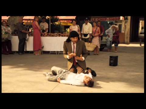 Mr. Bean's Holiday: Dancing on the Street Market