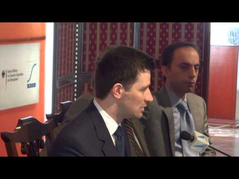 Press Conference on Project ESPIRE energy by bfz gGmbH and SMEDA ISC 29 Nov 2012 Lahore Pakistan