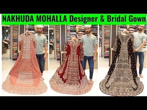 Latest party Wear Dresses Retail+wholesale | Bridal Gown, Garara, prom at pydhoni market Mumbai