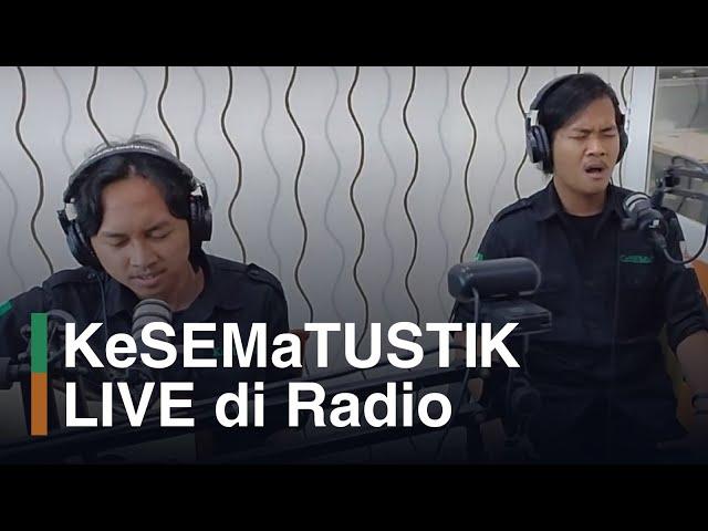 KeSEMaTUSTIK LIVE di Radio Pro Alma UNDIP