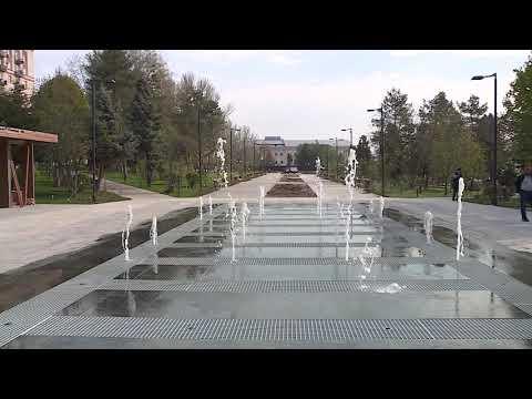 Обновленную набережную в центре Волгограда показали с высоты
