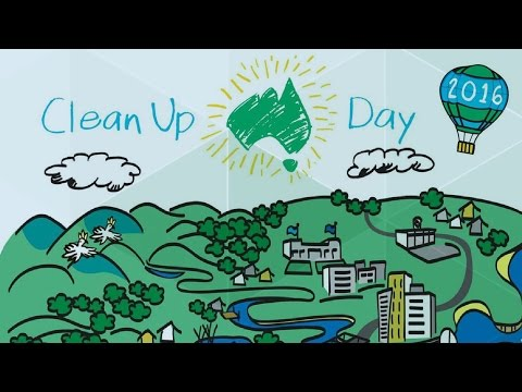 Schools Clean Up Day - Behind the News