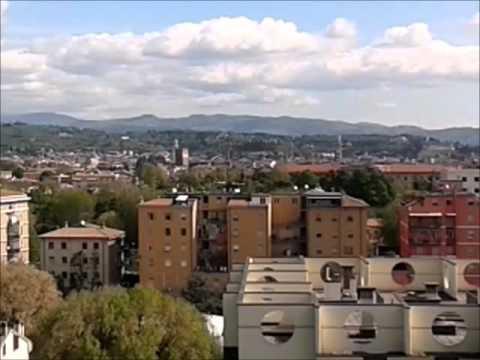 Splendida vista da un terrazzo del Centro Palladio di via Albere ...