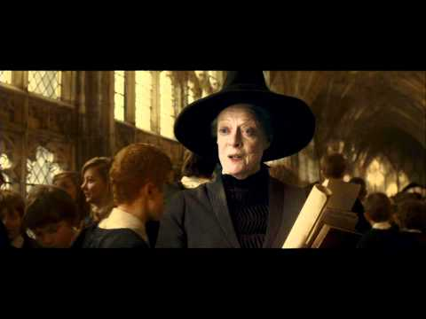 Harry Potter and the Half-Blood Prince - McGonagall gives Harry some advice (HD)