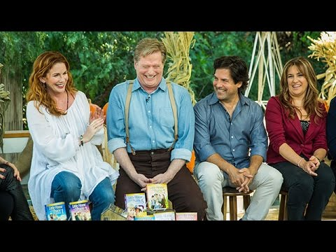 "Home & Family's ""Little House"" Reunion - Melissa Gilbert's First Kiss"