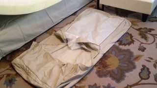 How To Replace Install Change Cover On Ikea Ektorp Loveseat With Chaise Lounge